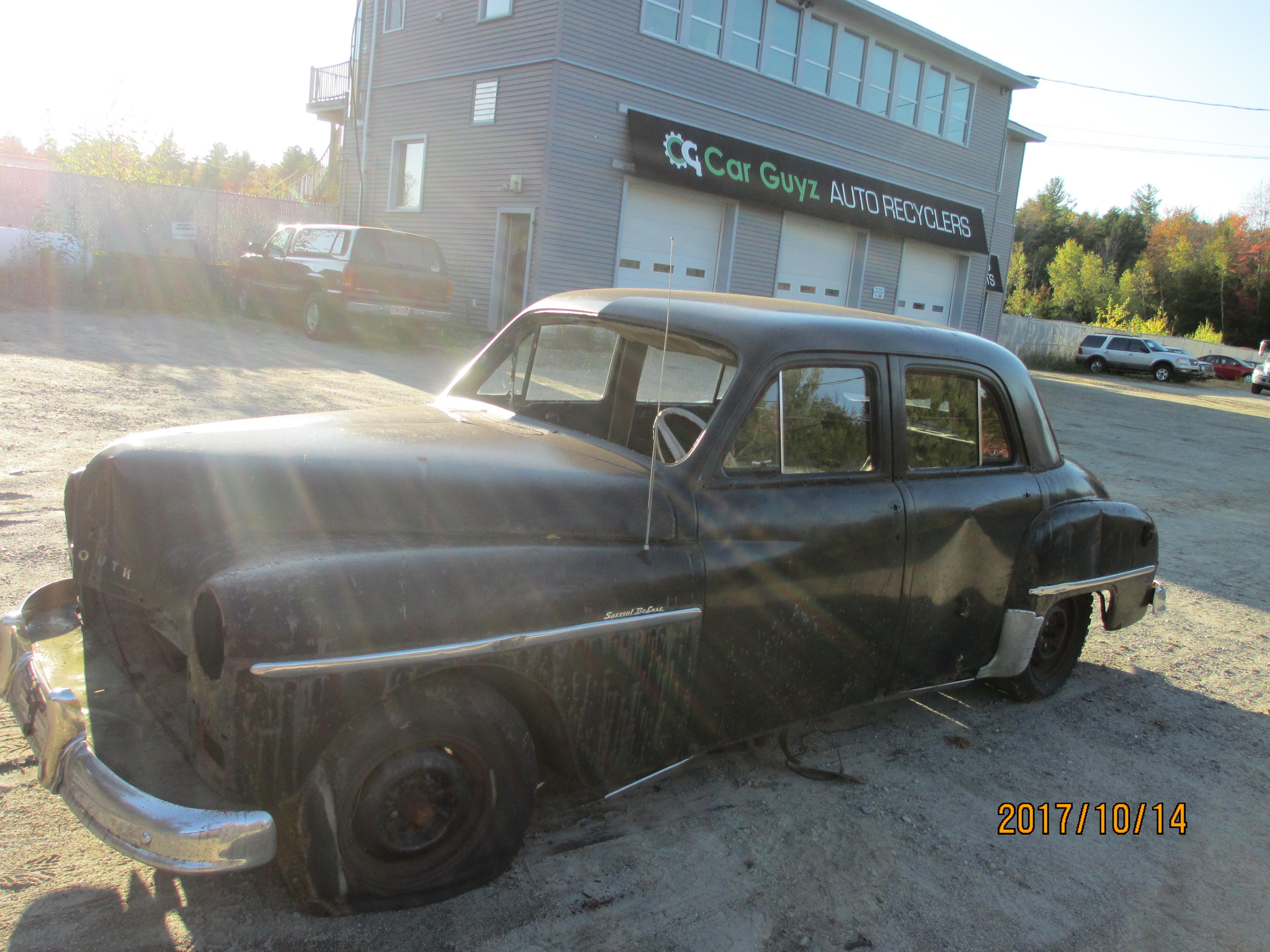 Deluxe Auto Parts >> 1950s Plymouth Deluxe Sedan